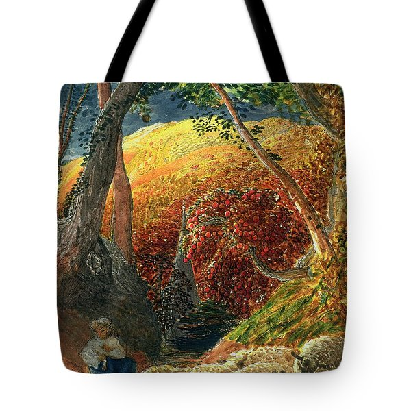 The Magic Apple Tree Tote Bag by Samuel Palmer