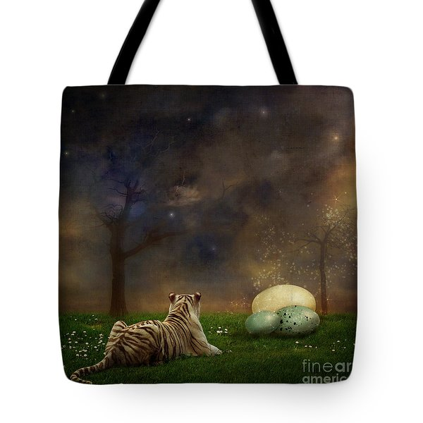 The Magical Of Life Tote Bag by Martine Roch