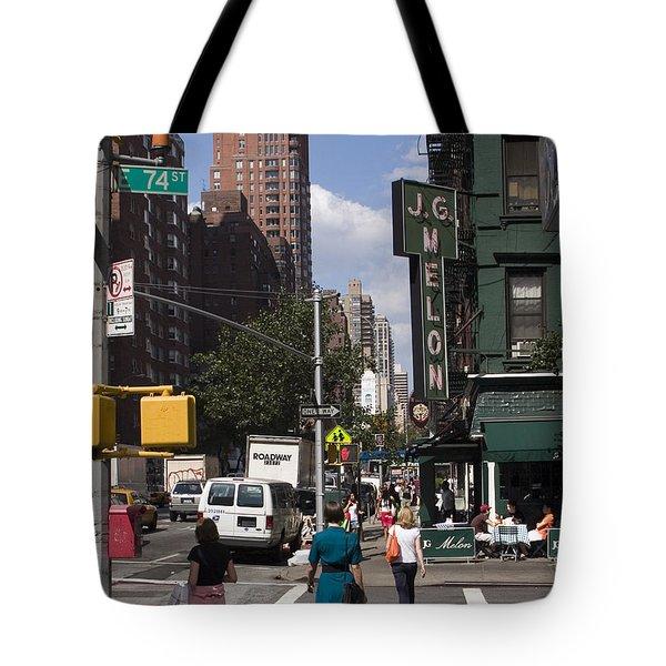The Manhattan Sophisticate Tote Bag by Madeline Ellis