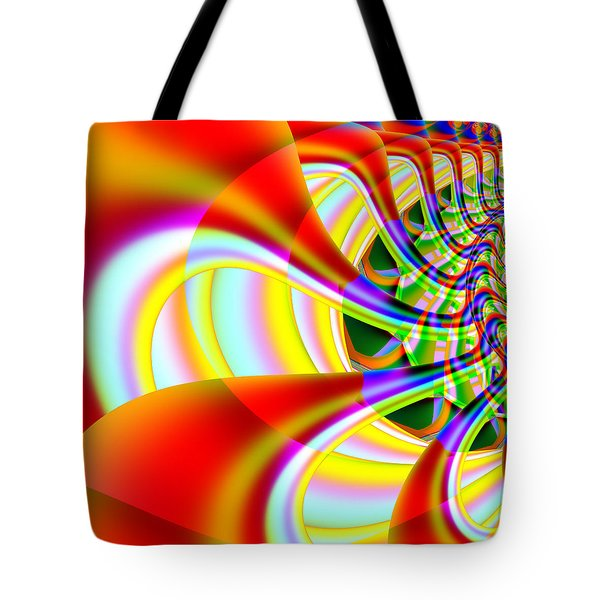 The Marching Band . Square . S14 Tote Bag by Wingsdomain Art and Photography