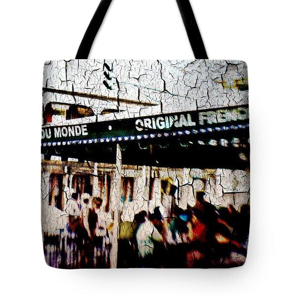 The Market Tote Bag by Scott Pellegrin