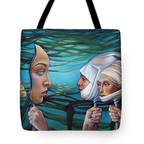 The Masqueradeum Tote Bag by Patrick Anthony Pierson
