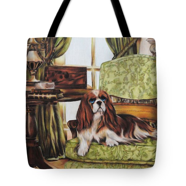 The Master's Study Tote Bag by Jai Johnson