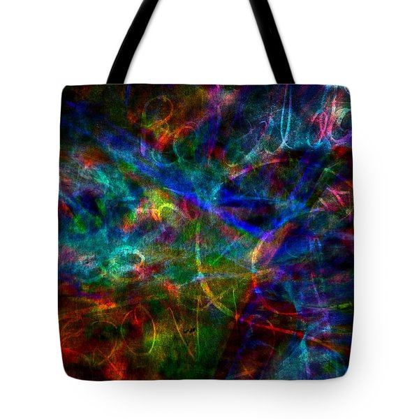 The Message Tote Bag by WBK