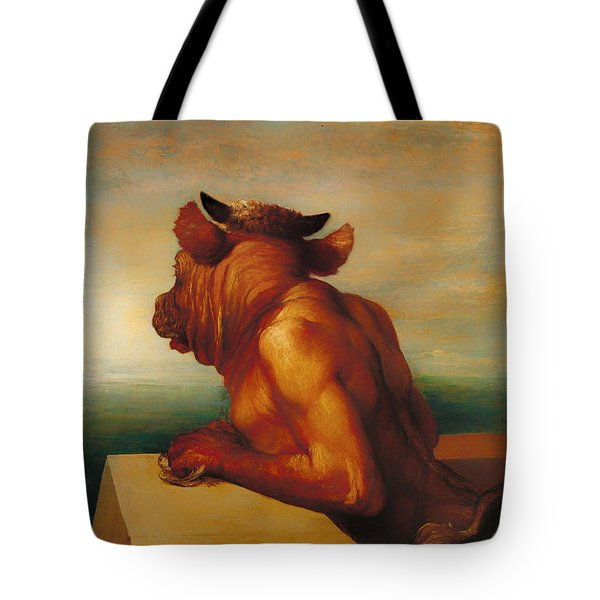 The Minotaur  Tote Bag by Mountain Dreams