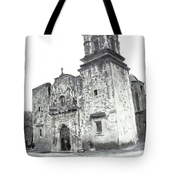 The Mission Tote Bag by Barry Jones