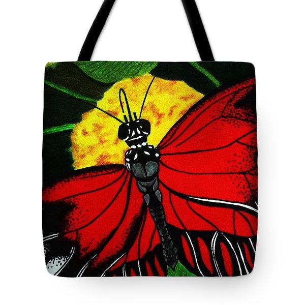 The Monarch Tote Bag by Ramneek Narang