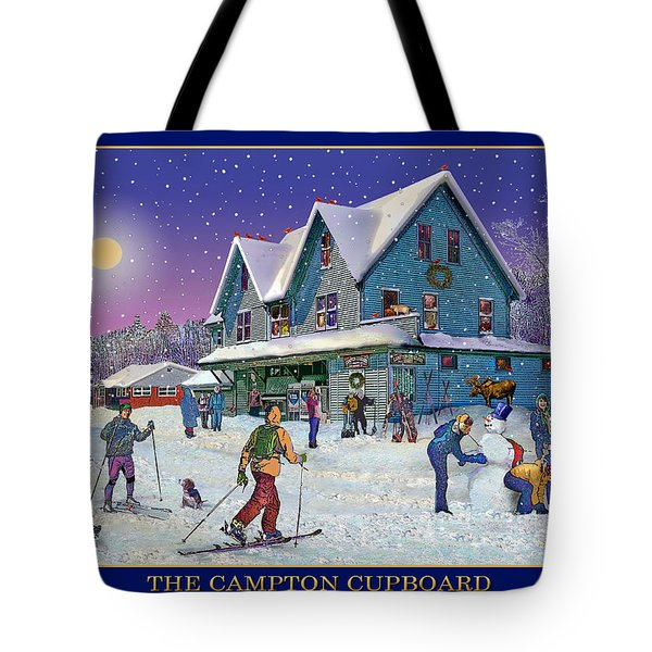 The Morning After At Campton New Hampshire Tote Bag by Nancy Griswold