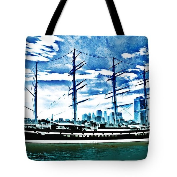 The Moshulu Tote Bag by Bill Cannon
