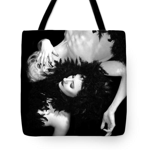 The Never Ending Sleep Tote Bag by Jaeda DeWalt