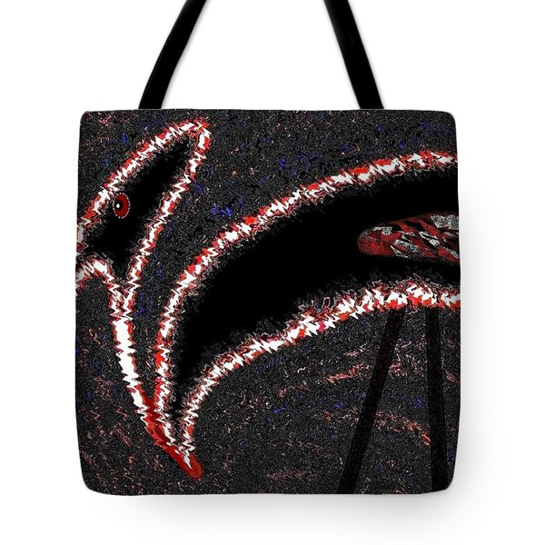 The Old Buzzard Tote Bag by Will Borden