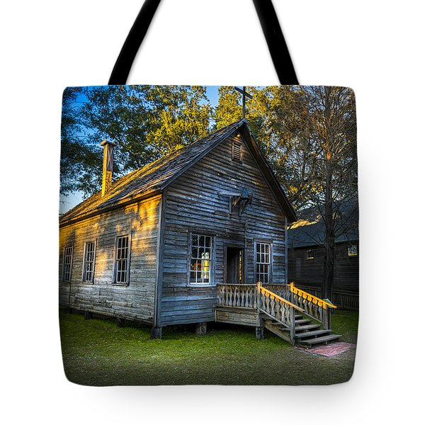 The Old Church Tote Bag by Marvin Spates