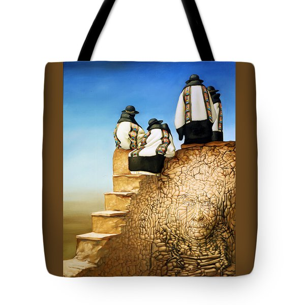 The Old Ones Tote Bag by Jane Whiting Chrzanoska