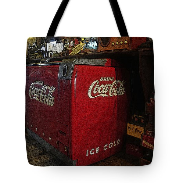 The Old Store Tote Bag by David Lee Thompson