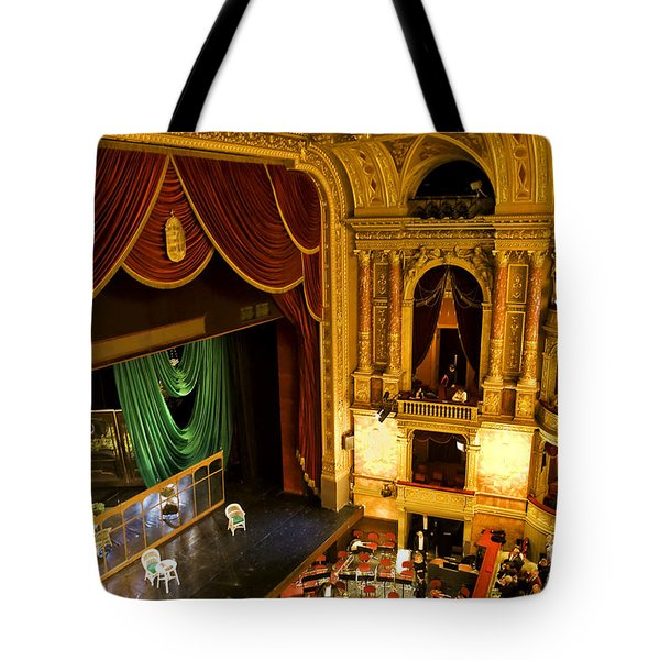 The Opera House Of Budapest Tote Bag by Madeline Ellis
