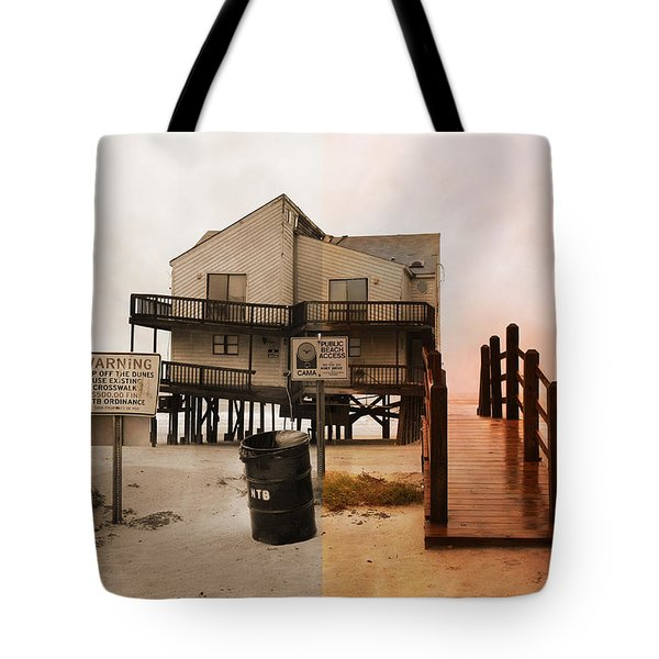 The Osprey And The Pelican Tote Bag by Betsy Knapp