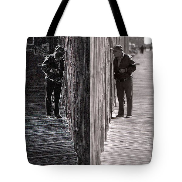 The Other Side  Tote Bag by Jeff Breiman