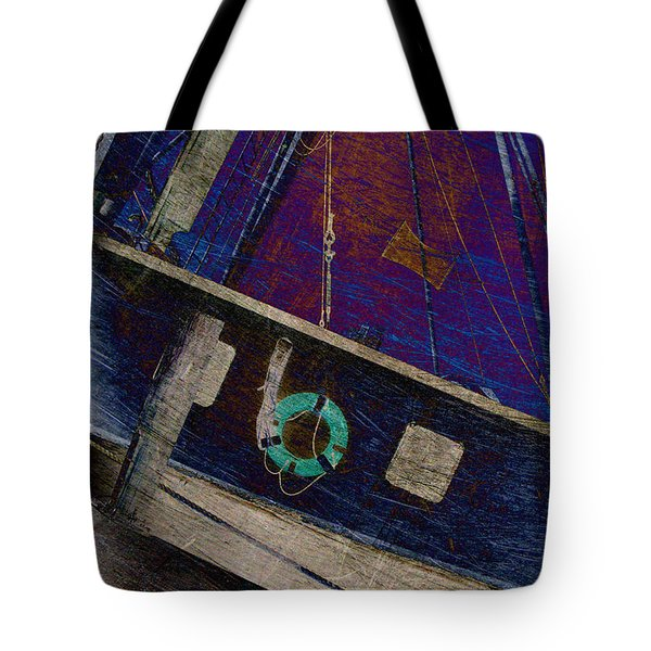 The Other Way To Go Tote Bag by Susanne Van Hulst