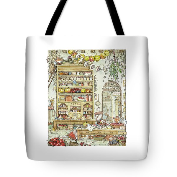 The Palace Kitchen Tote Bag by Brambly Hedge