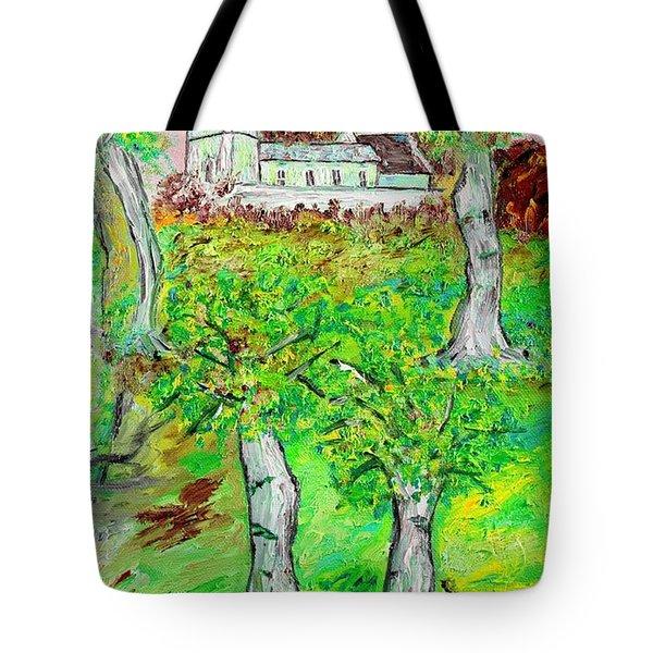 The Parish Curch Tote Bag by Loredana Messina