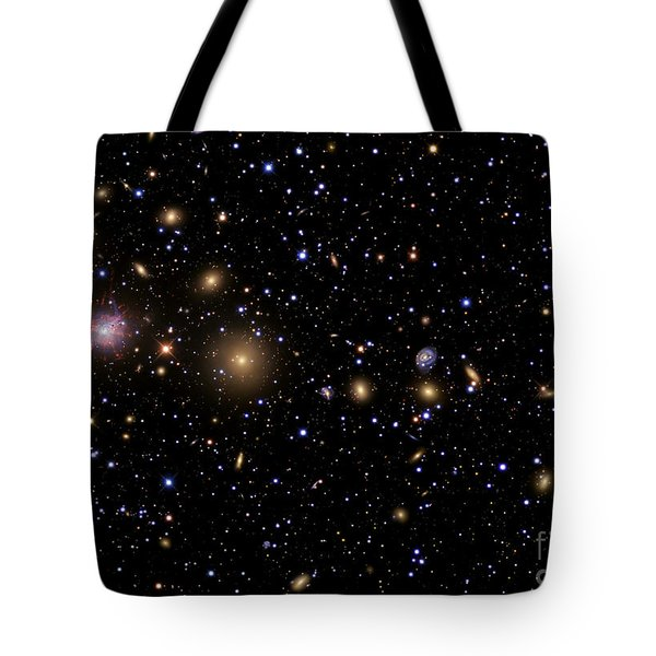 The Perseus Galaxy Cluster Tote Bag by R Jay GaBany