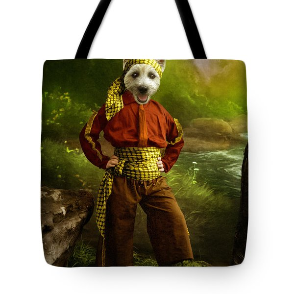 The Pirate Tote Bag by Martine Roch