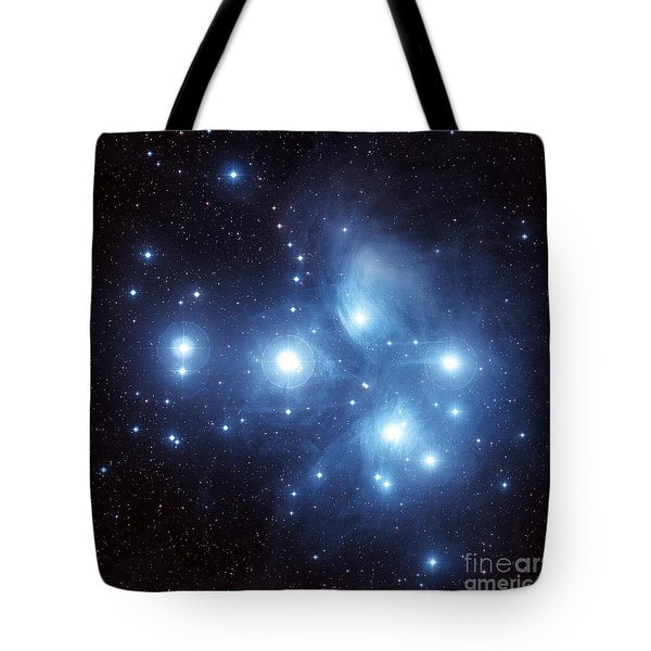 The Pleiades Star Cluster Tote Bag by Charles Shahar