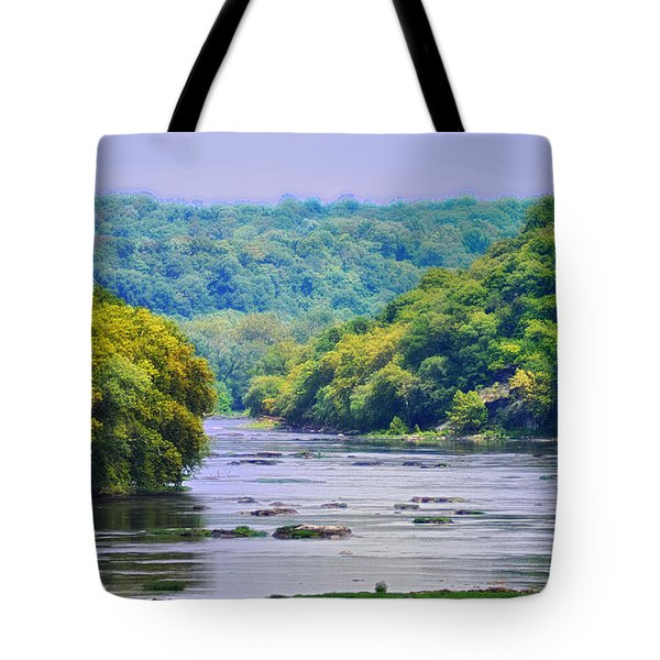 The Potomac Tote Bag by Bill Cannon