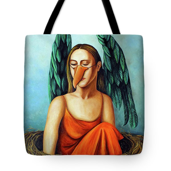 The Pretender Tote Bag by Leah Saulnier The Painting Maniac
