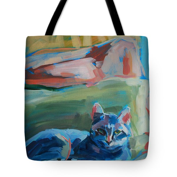 The Princess and the Pea - Sketch Tote Bag by Kimberly Santini