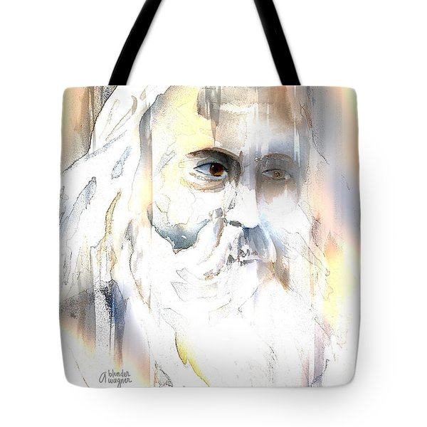 The Prophet Tote Bag by Arline Wagner