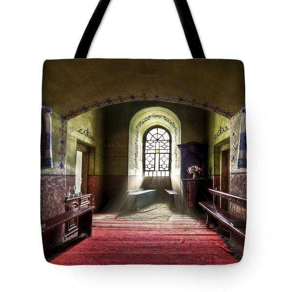 The Reading Room Tote Bag by Evelina Kremsdorf