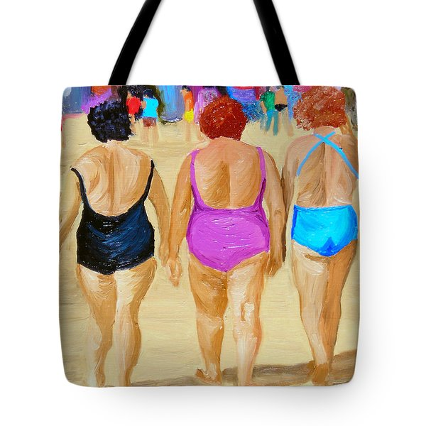 The Real South Beach Tote Bag by Michael Lee