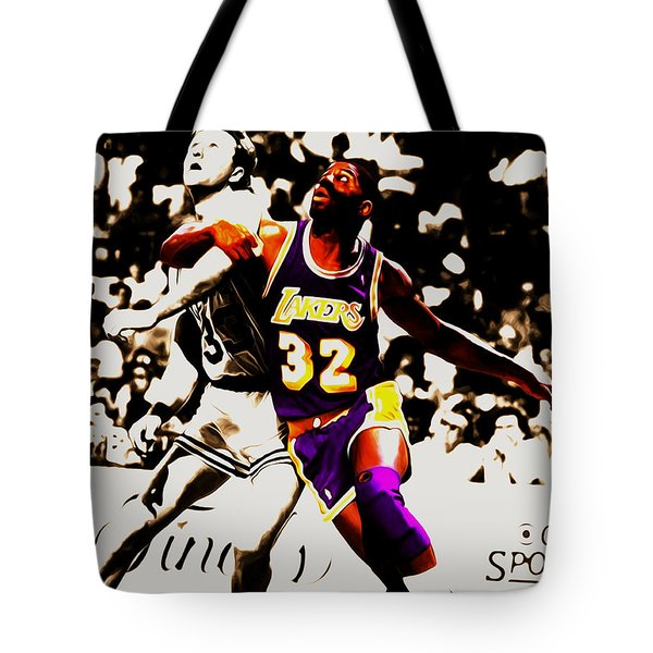 The Rebound Tote Bag by Brian Reaves