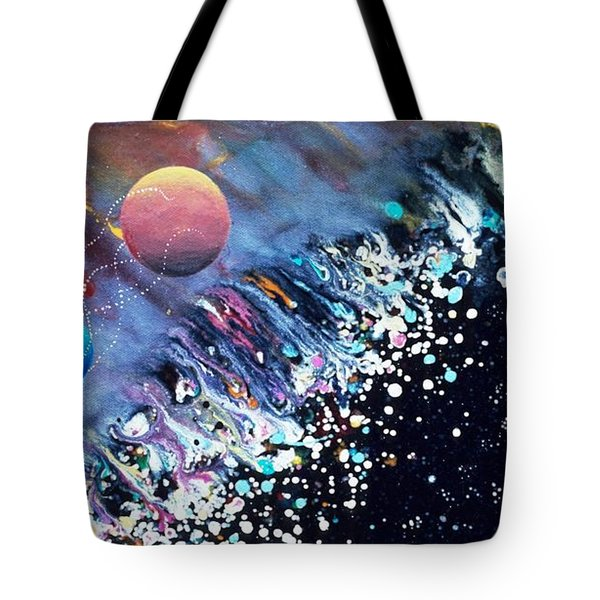 The Rescue Of Earth Tote Bag by Lee Pantas