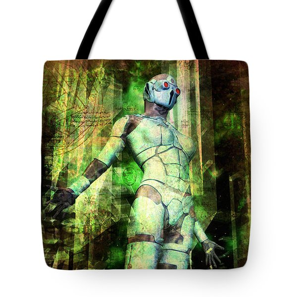 The Revelations Of Glaaki Tote Bag by Luca Oleastri