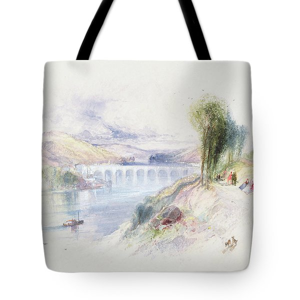 The River Schuykill Tote Bag by Thomas Moran