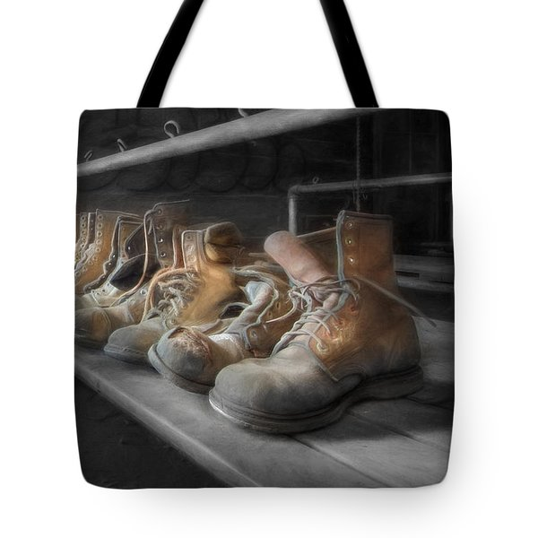 The Room of Lost Soles Tote Bag by Lori Deiter
