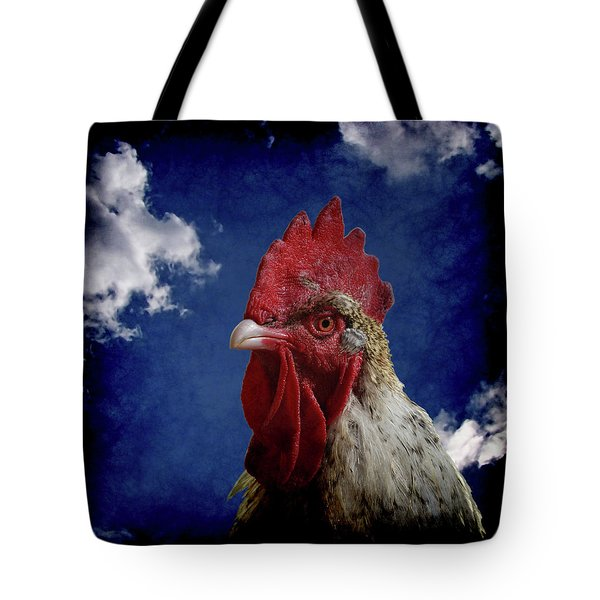 The Rooster Tote Bag by Ernie Echols