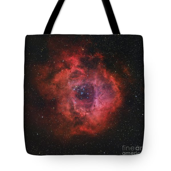 The Rosette Nebula Tote Bag by Rolf Geissinger