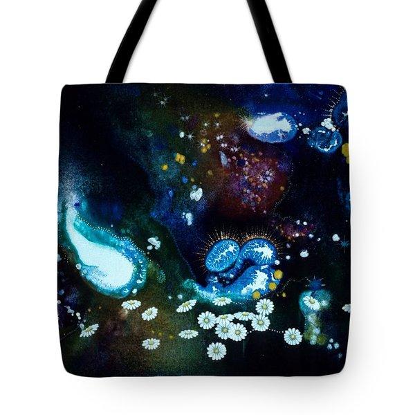 The Rosy Dawn Tote Bag by Lee Pantas