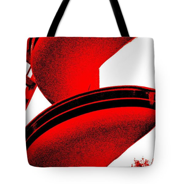 The S. S. Tornado Tote Bag by Ed Smith