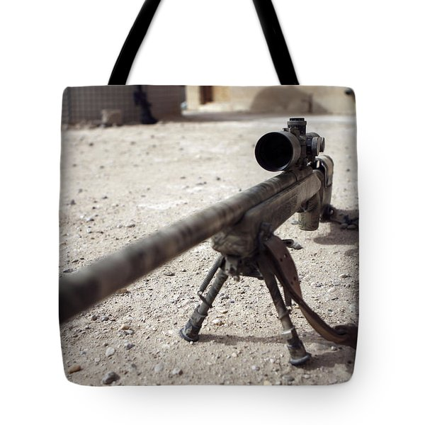 The Schmidt & Bender M-854155 Ds Scout Tote Bag by Stocktrek Images