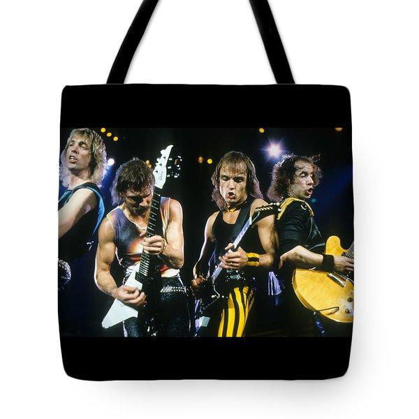 The Scorpions Tote Bag by Rich Fuscia