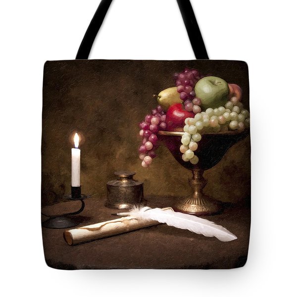 The Scribe Tote Bag by Tom Mc Nemar