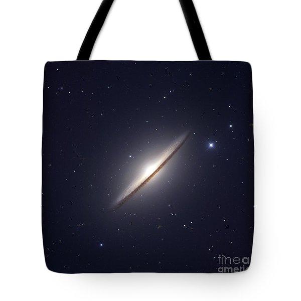 The Sombrero Galaxy Tote Bag by Robert Gendler