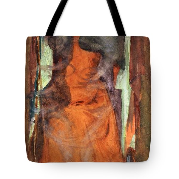 The Sorceress Tote Bag by Henry Meynell Rheam