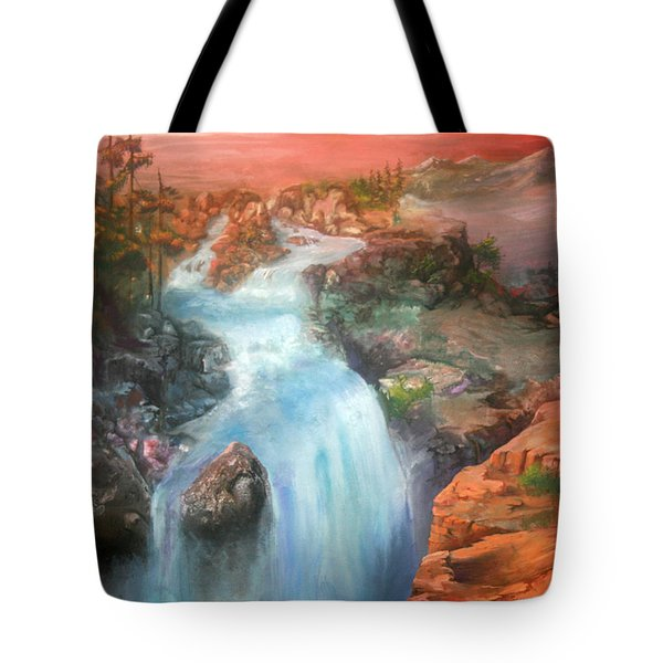 The Source Tote Bag by Sherry Shipley