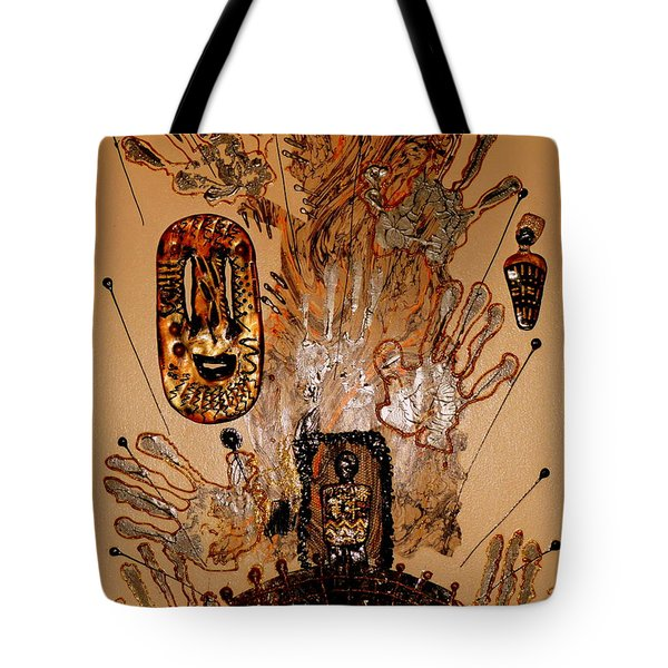 The Spirit Of Survival Tote Bag by Angela L Walker