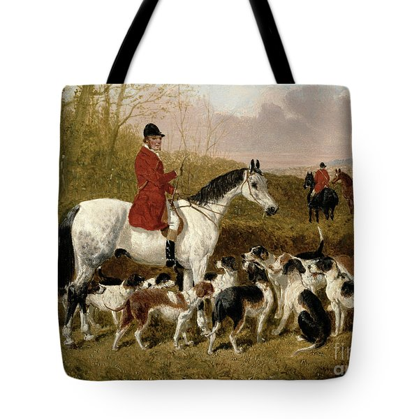 The Start  Tote Bag by John Frederick Herring Snr